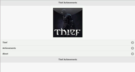 Thief Achievement