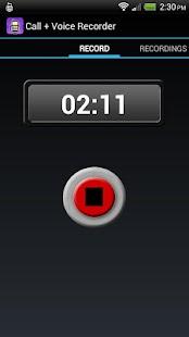 Call + Voice Recorder Pro - screenshot thumbnail
