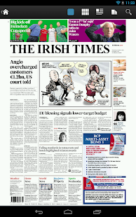 Irish Times Digital Edition - screenshot thumbnail