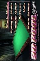 Screenshot of 3D Pool Master