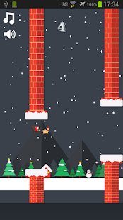 Flappy Papa – Merry Christmas- screenshot thumbnail