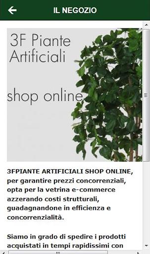 3F piante artificiali