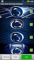 Screenshot of Penn State Revolving Wallpaper