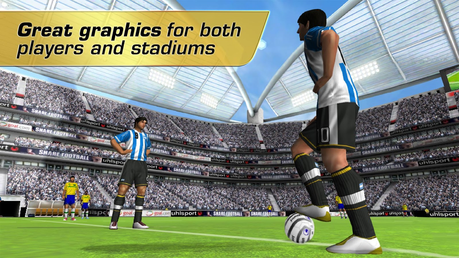 Real Football 2012: captura de tela