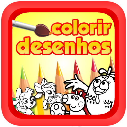 Colorir Desenhos Pintadinha LOGO-APP點子