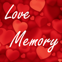 Love memory game logo