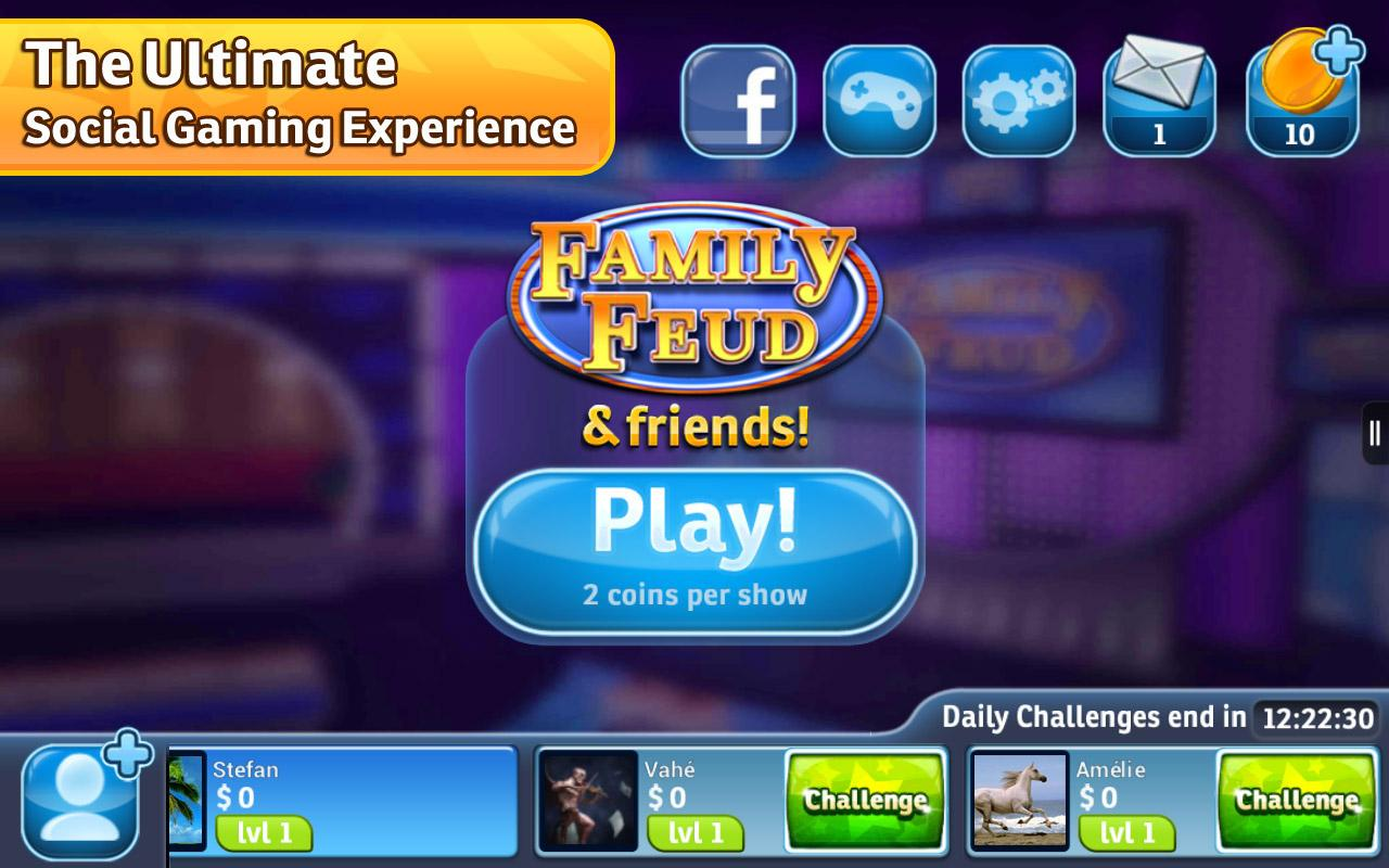 Family Feud® & Friends - screenshot