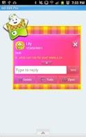 Screenshot of GO SMS - Star Fruit