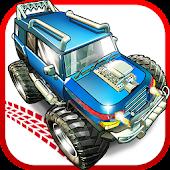 Zombie trucks Death Race