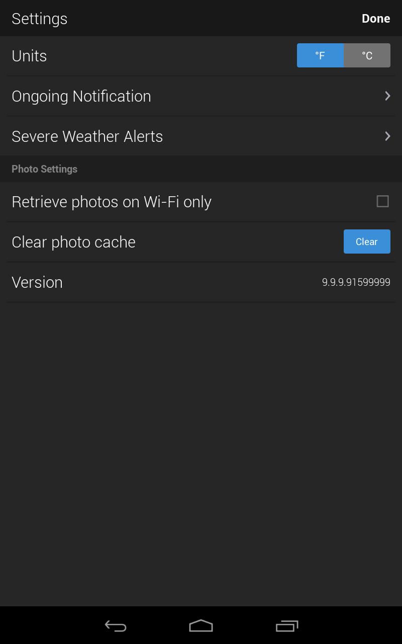 Yahoo Weather screenshot #16