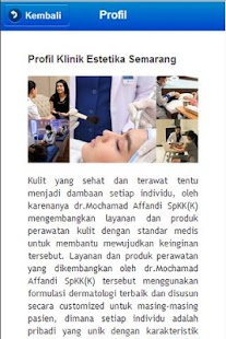 Klinik Estetika Mobile- screenshot thumbnail