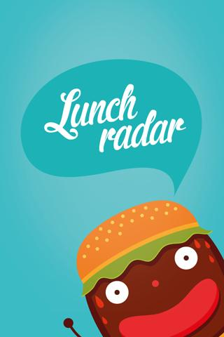 Lunchradar - screenshot