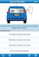 Screenshot of UK Driving Theory Test