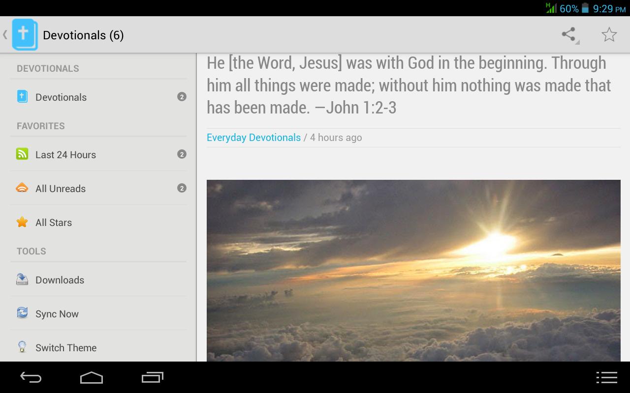 Everyday Devotionals - screenshot