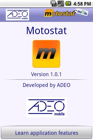 Motostat - screenshot
