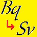 ベクレルtoシーベルト icon