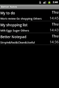 Better Notepad - screenshot thumbnail