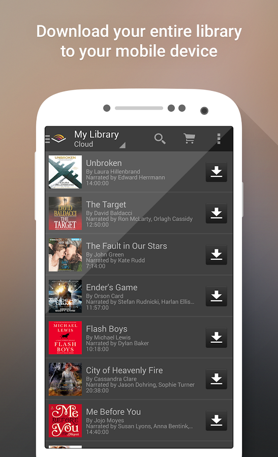 Audible for Android - screenshot