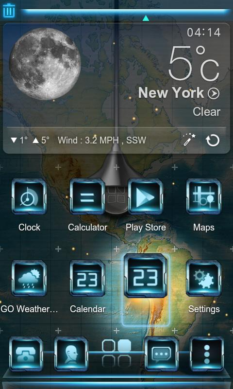 Ray Next Launcher 3D Theme- screenshot