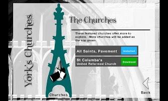 Screenshot of York Churches