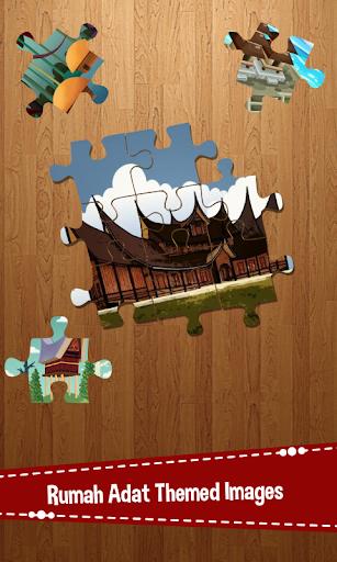 玩休閒App|Jigsaw Rumah Adat免費|APP試玩