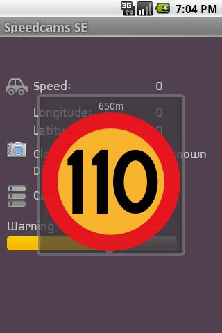 Speedcams-SE - screenshot