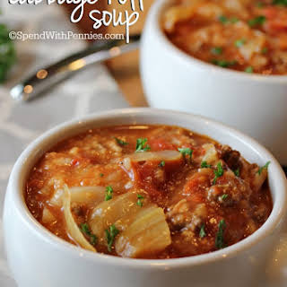 Cabbage Roll Soup.