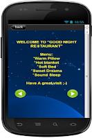 Screenshot of Best Good Night SMS App