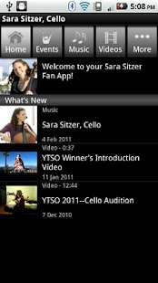 Sara Sitzer, Cello - screenshot thumbnail