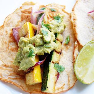 Paleo Vegetarian Tacos with Zucchini, Squash & Eggplant