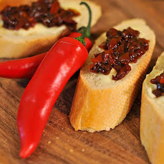 Hot Chili Chutney.