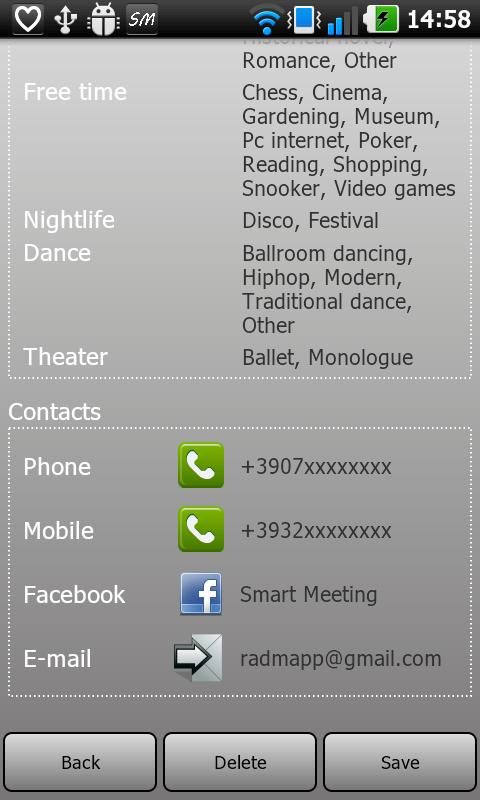 Smart Meeting- screenshot