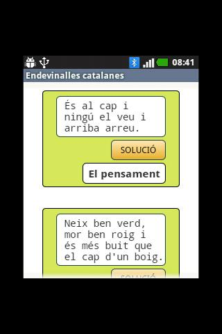 Endevinalles catalanes - screenshot