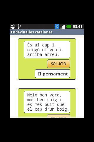Endevinalles catalanes - screenshot