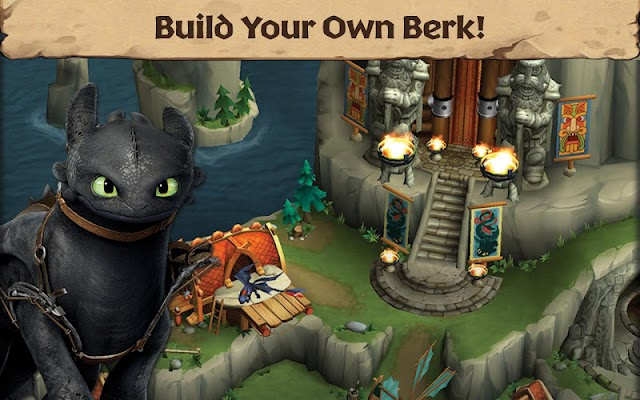 Dragons: Rise of Berk - screenshot