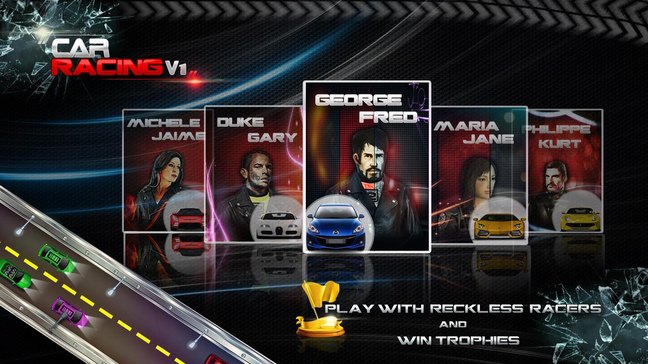 Car Racing V1 - Games- screenshot