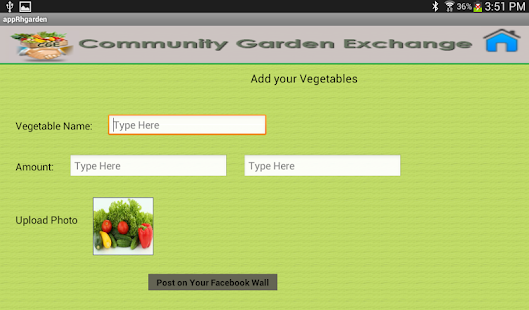 Community Garden Exchange- screenshot thumbnail