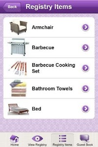 OurWishingWell Gifts Registry screenshot 1