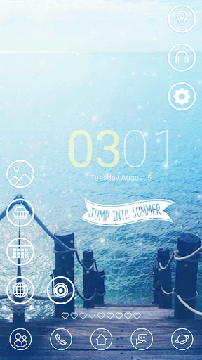 jump into summer dodol theme