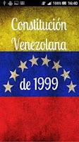 Screenshot of Constitución Venezolana