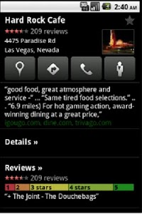 Las Vegas Holiday Guide GPS+ screenshot 1