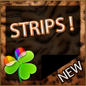 Sweet Strips GO Launcher Theme