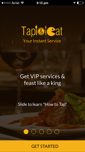 Tap And Eat