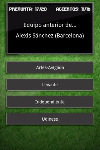 Trivial Liga BBVA 11/12 - screenshot