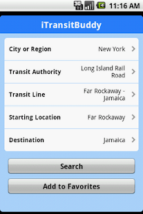iTransitBuddy LIRR Lite - screenshot thumbnail