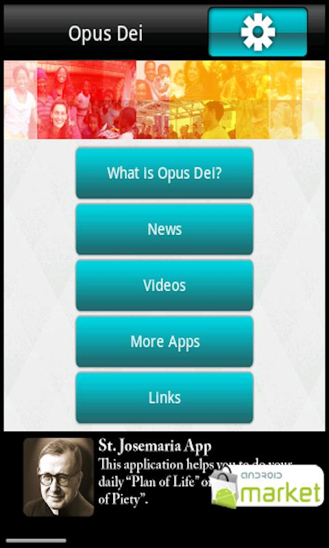 Opus Dei News- screenshot
