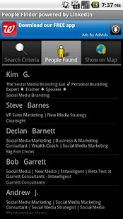 Business People Finder