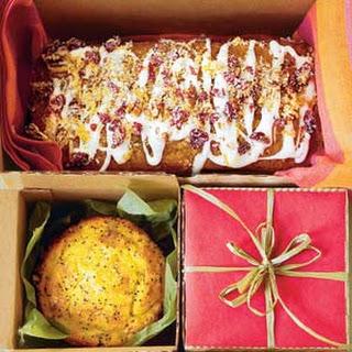 Lemon-Poppy Seed Cake Batter.