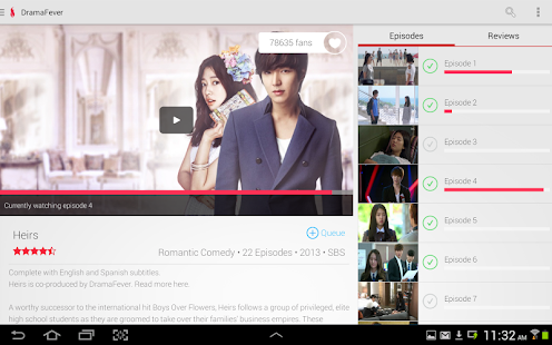 DramaFever - Dramas & Movies- screenshot thumbnail