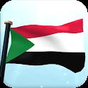 Sudan Flag 3D Free Wallpaper icon